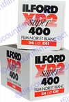 Ilford XP2 Super 400 iso  24 exposure Black & White Camera Film 2 PACK SPECIAL